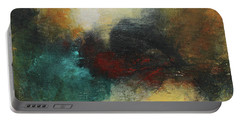 Rich Tones Abstract Painting Portable Battery Charger