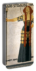 Richard Strauss-woche 1910 Poster Portable Battery Charger