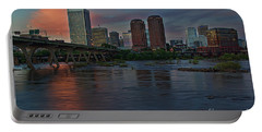 Richmond Dusk Skyline Portable Battery Charger