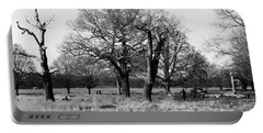 Richmond Park In London  Portable Battery Charger