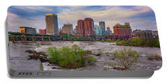 Portable Battery Charger featuring the photograph Richmond Skyline by Rick Berk
