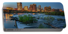 Portable Battery Charger featuring the photograph Richmond Twilight by Rick Berk