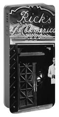 Ricks Cafe Americain Casablanca 1942 Portable Battery Charger