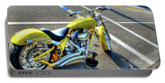 Portable Battery Charger featuring the photograph Ride Hard II by Adrian LaRoque