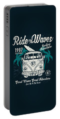 Ride The Waves Portable Battery Charger