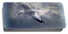 Ride The Wings Of Angels Portable Battery Charger