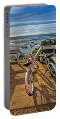 Ride With Me To The Beach Portable Battery Charger