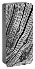 Portable Battery Charger featuring the photograph Ridges - Bw by Werner Padarin