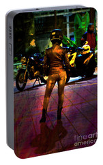 Portable Battery Charger featuring the photograph Riding Companion II by Al Bourassa