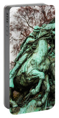 Portable Battery Charger featuring the photograph Riding Tight by Christopher Holmes