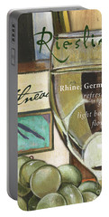 Riesling Wine Portable Battery Charger