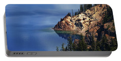 Right Side Of Crater Lake Oregon Portable Battery Charger