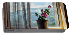 Rila Mountains-flowers Portable Battery Charger
