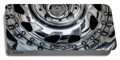 Portable Battery Charger featuring the photograph Rim Detail by Brad Allen Fine Art