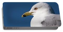 Ring-billed Gull Portrait Portable Battery Charger