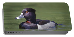 Ring-necked Duck Profile Portable Battery Charger
