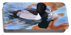 Ring-necked Duck Portable Battery Charger by Shoal Hollingsworth