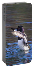 Ring-necked Duck Wings Up Portable Battery Charger