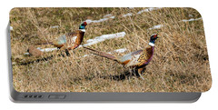 Ring-necked Pheasant Pair Portable Battery Charger