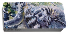 Ring-tailed Lemurs 13 Portable Battery Charger