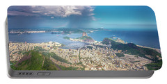 Rio De Janeiro Portable Battery Charger by Andrew Matwijec