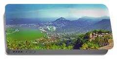Rio De Janeiro Brazil Panorama Portable Battery Charger