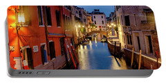 Portable Battery Charger featuring the photograph Rio Di San Vio by Fabrizio Troiani