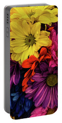 Portable Battery Charger featuring the photograph Riot Of Color by Jessica Manelis