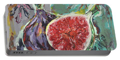 Ripe Figs Portable Battery Charger
