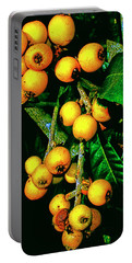 Ripe Loquats Portable Battery Charger by Gina O'Brien