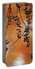 Ripe Wild Grapes  Portable Battery Charger