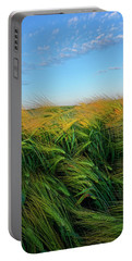 Ripening Barley Portable Battery Charger