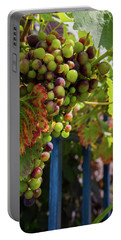 Portable Battery Charger featuring the photograph Ripening Grapes by Geoff Smith