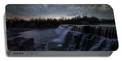 Rise And Fall Portable Battery Charger by Aaron J Groen