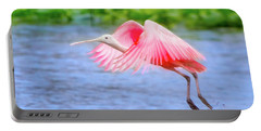 Rise Of The Spoonbill Portable Battery Charger