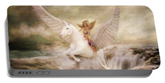 Risen By Sarah Kirk Portable Battery Charger
