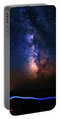 Portable Battery Charger featuring the photograph Rising From The Clouds by Bryan Carter