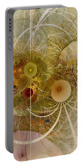 Rising Spring - Fractal Art Portable Battery Charger by NirvanaBlues