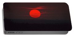 Rising Sun In Texas Portable Battery Charger