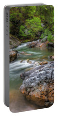 River Beauty Portable Battery Charger