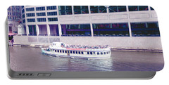 River Boat Tour Portable Battery Charger