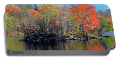 River Color Portable Battery Charger
