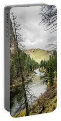 River In The Canyon Portable Battery Charger