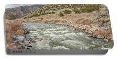 River In The Mountains Portable Battery Charger