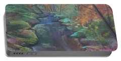 River In The Fall Portable Battery Charger