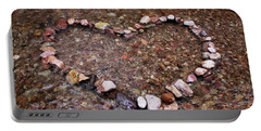 Portable Battery Charger featuring the photograph River Of Love by Natalie Ortiz