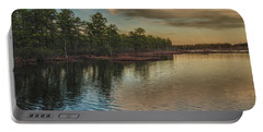 River Reflections On The Mullica River Portable Battery Charger