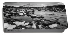 River Sligachan And Black Cuillin, Isle Of Skye Portable Battery Charger