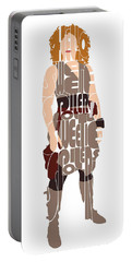 River Song Portable Battery Charger by Jean Haynes