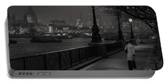 River Thames Embankment, London Portable Battery Charger